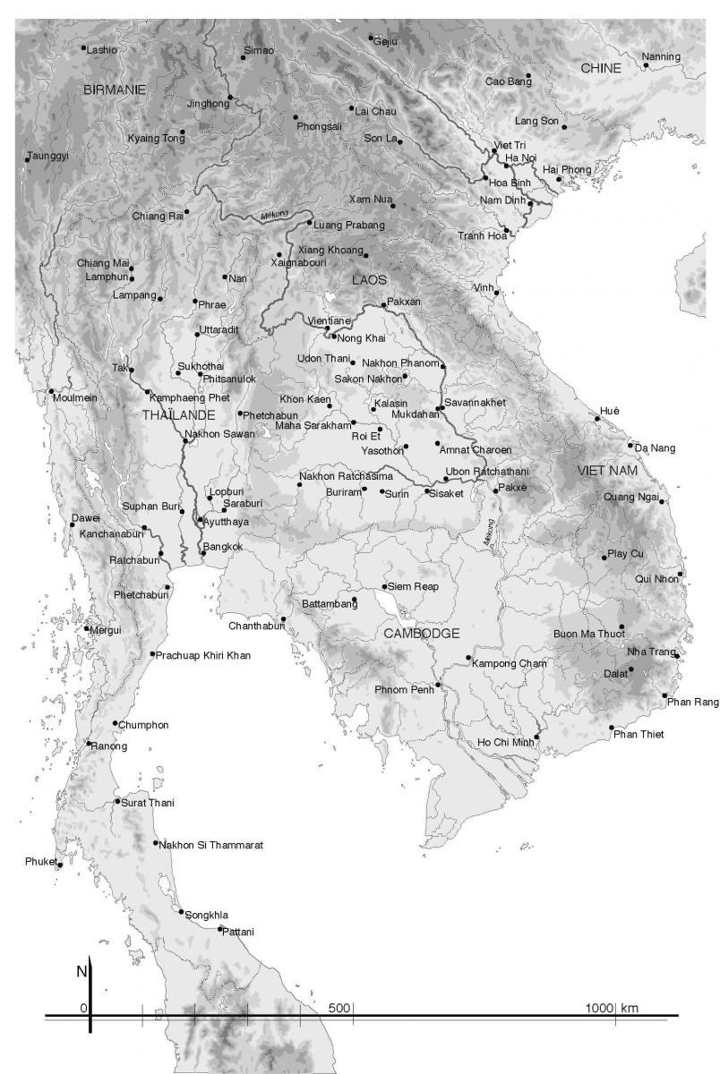 Asie Sud-Est continentale